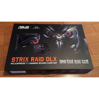 エイスース(ASUS)のSTRIX RAID DLX | サウンドカード  ASUStek(PCパーツ)