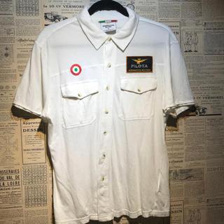 アエロナウティカミリターレ(AERONAUTICA MILITARE)のAERONAUTICA MILITARE 半袖シャツ サイズM(シャツ)