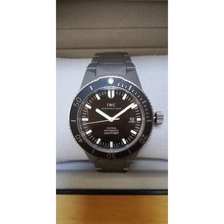 インターナショナルウォッチカンパニー(IWC)のIWC GST アクアタイマー AQUATIMER チタンモデル Used品(腕時計(アナログ))