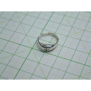 5 号サイズ シルバーリング クロス 十字架 ピンキー SILVER シンプル(リング(指輪))
