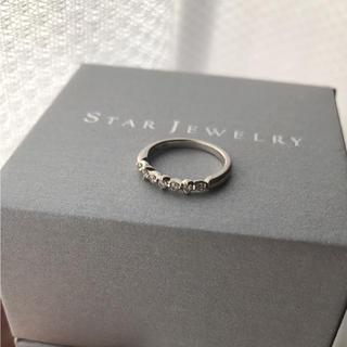 スタージュエリー(STAR JEWELRY)のスタージュエリー  ダイヤモンド リング k18(リング(指輪))