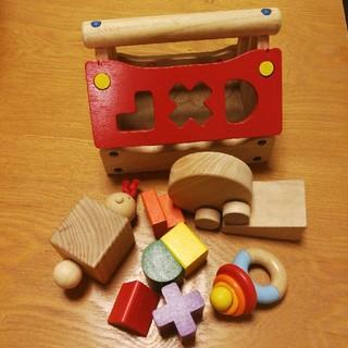 ボーネルンド(BorneLund)の木のおもちゃ ファミリア ボーネルンド 他(知育玩具)