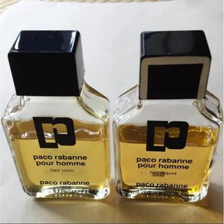 パコラバンヌ(paco rabanne)のpaco rabanne pour homme  パコラバンヌ 香水 2本セット(香水(男性用))