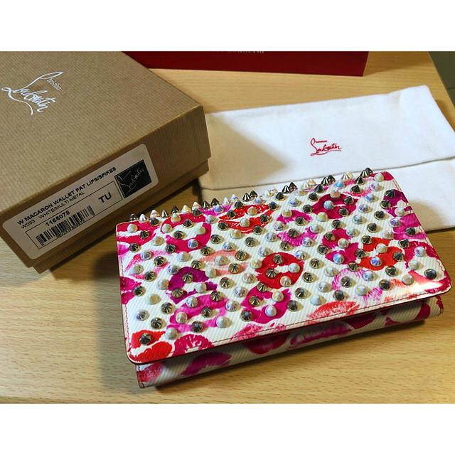 wholesale dealer 59bc6 0d53e クリスチャンルブタン リップ柄 長財布 | フリマアプリ ラクマ