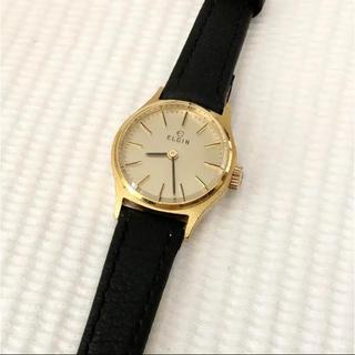 ELGIN エルジン スイス製 レディース手巻き腕時計 稼動品