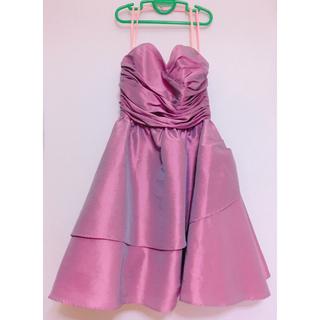リトルニューヨーク(Little New York)のリトルニューヨーク ピンクドレス♡(ミディアムドレス)