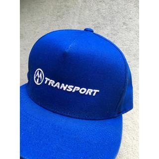 トランスポート(TRANSPORT)の【最終値下げ!】TRANSPORT ベースボールキャップ!(キャップ)
