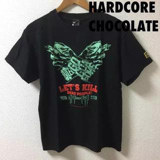 ハードコアチョコレート(HARDCORE CHOCOLATE)の1032 hardcore chocolate プリント Tシャツ M(Tシャツ/カットソー(半袖/袖なし))