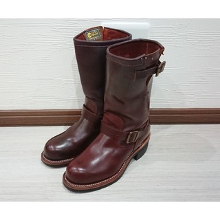 レッドウィング(REDWING)の売り切り❗chippewa エンジニアブーツ コードバン 5h(ブーツ)