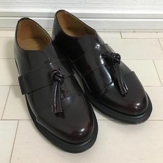 ドクターマーチン(Dr.Martens)の【ada0533様専用】UK5(24ドクターマーチン ELIZA チェリーレッド(ローファー/革靴)