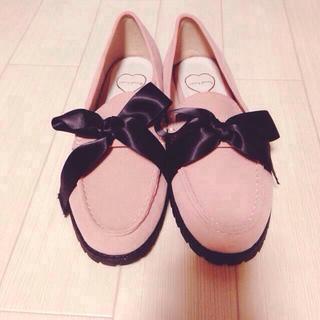 メリージェニー(merry jenny)のmerry genny♡リボンローファー(ローファー/革靴)