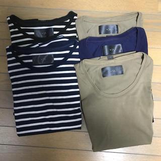 ダブルジェーケー(wjk)の値下げwjk  ティシャツ 5枚セット(Tシャツ/カットソー(半袖/袖なし))