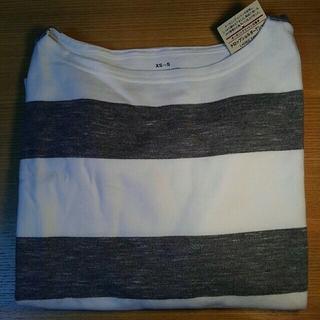 ムジルシリョウヒン(MUJI (無印良品))の無印良品 オーガニックコットン 太番手 Tシャツ 、サイドゴアスニーカー(カットソー(長袖/七分))