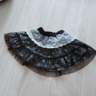 シマムラ(しまむら)の女の子*チュール スカート 90(スカート)