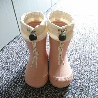 ムジルシリョウヒン(MUJI (無印良品))の無印良品  レインブーツ  ベビー  12-13cm(長靴/レインシューズ)