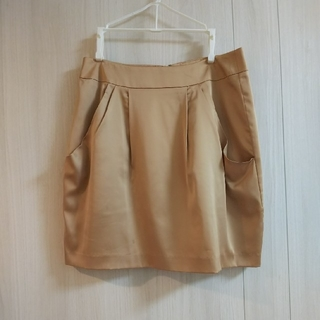 プロポーションボディドレッシング(PROPORTION BODY DRESSING)のPROPORTION サテンスカート M(ミニスカート)