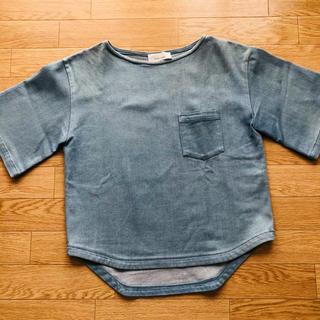 フィーニー(PHEENY)のPheeny フィーニー デニム ポケット付きTシャツ(Tシャツ(半袖/袖なし))