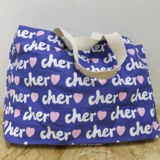 シェル(Cher)のCher トートバッグ ブルー(トートバッグ)