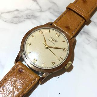 ロンジン(LONGINES)のY! 【LONGINES】メンテ済 手巻き腕時計 WH-1037(腕時計(アナログ))