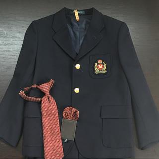 641eabdcda4c5 ミキハウス(mikihouse)のオマケ付き ミキハウス 男の子スーツ上下セット 120cm(