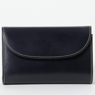 ホワイトハウスコックス(WHITEHOUSE COX)のwhitehouse cox ブライドルレザー財布ネイビーS7660(折り財布)