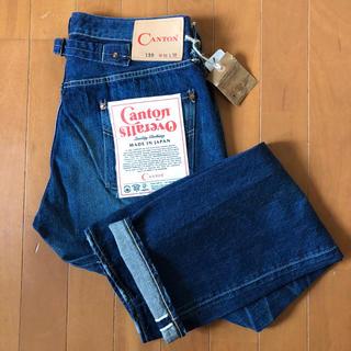 キャントン(Canton)のCANTON OVERALLS LOT.120UD W31 白耳 尾錠 日本製(デニム/ジーンズ)