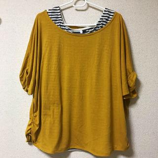 シマムラ(しまむら)の大きいサイズ 3L アンサンブル(Tシャツ(半袖/袖なし))