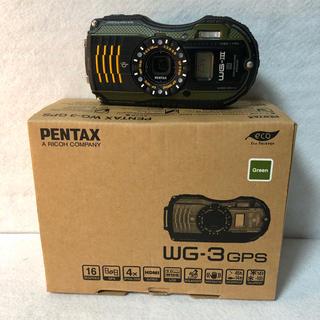 ペンタックス(PENTAX)のPENTAX 防水デジタルカメラ PENTAX WG-3GPS(コンパクトデジタルカメラ)