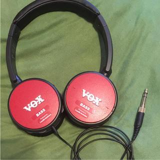 ヴォックス(VOX)の【りお様専用】VOX  ヘッドホン アンプ内蔵 amPhones BASS(ベースアンプ)
