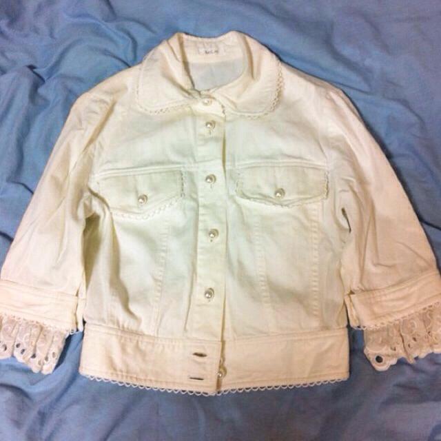 MILK(ミルク)のレア‼︎MILK ホワイトジャケット レディースのジャケット/アウター(テーラードジャケット)の商品写真