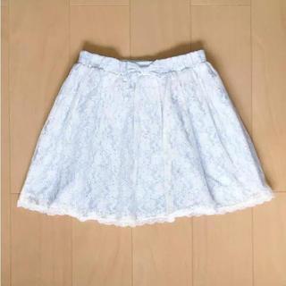 ジーユー(GU)のレーシースカート150(スカート)