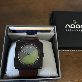 ヌーン(noon)のnoon 腕時計(腕時計(アナログ))