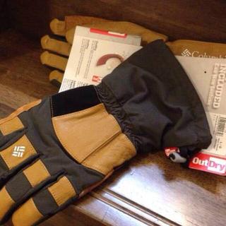 コロンビア(Columbia)のColumbia*防水手袋グローブ(手袋)