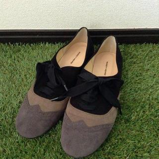 ビュルデサボン(bulle de savon)の渋色フラットシューズ(ローファー/革靴)