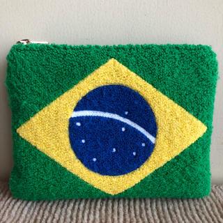 シマムラ(しまむら)の美品 しまむら 完売 サガラ 刺繍 ブラジル ポーチ バック(ポーチ)