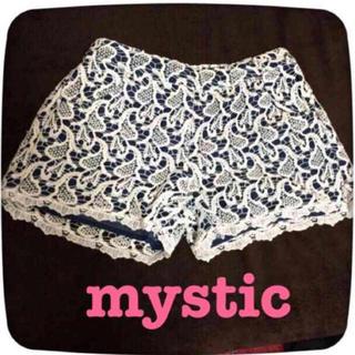 ミスティック(mystic)のmysticレースショーパン(ショートパンツ)