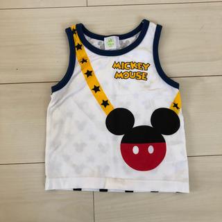 ディズニー(Disney)のディズニー タンクトップ ミッキー 80(タンクトップ/キャミソール)