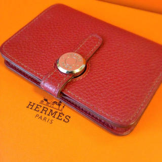 more photos 766d5 71c60 【HERMES】ドゴン 名刺入れ