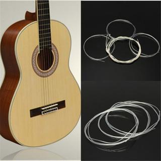 ★クラシックギター用 ナイロン・スチール弦セット6本セット(クラシックギター)
