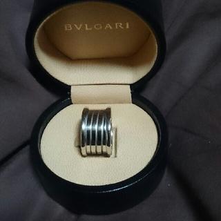 ブルガリ(BVLGARI)のBVLGARI ブルガリビーゼロワン 4バンド k18wg(リング(指輪))