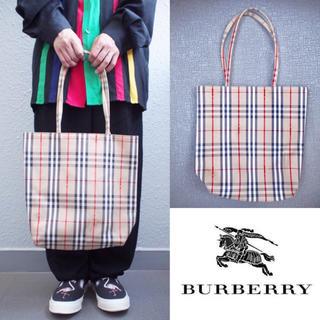 バーバリー(BURBERRY)の❤️希少【Burberry】nova-check tote bag(トートバッグ)