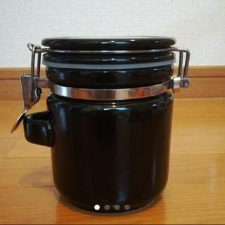 レア 新品未使用 おしゃれ シックなブラック 密封容器 ジャム瓶 ピクルスポット(容器)