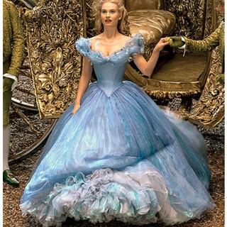 ディズニー(Disney)のmoominrina様専用 シンデレラ 実写 ブルードレス(その他ドレス)