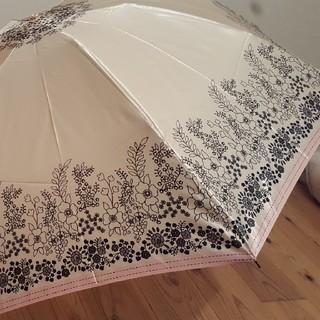 ポール&ジョーシスター(PAUL & JOE SISTER)の☆新品未使用☆ ポール&ジョーシスター ゴールド 折り畳み雨傘(傘)