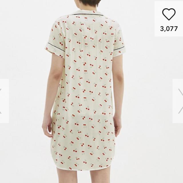 GU(ジーユー)の大幅値下げ中‼️GU✩さくらんぼ(チェリー)完売Lサイズ レディースのルームウェア/パジャマ(パジャマ)の商品写真