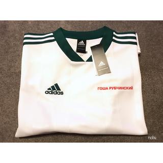 アディダス(adidas)の新品【 Gosha × Adidas 】FOOTBALL TEE ( S )(Tシャツ/カットソー(半袖/袖なし))