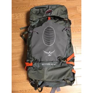 オスプレイ(Osprey)のオスプレー アトモスAG65 Mサイズ ザックカバー付(バッグパック/リュック)