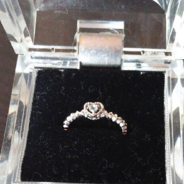4℃(ヨンドシー)の4℃ アクアマリン ピンキーリング  レディースのアクセサリー(リング(指輪))の商品写真