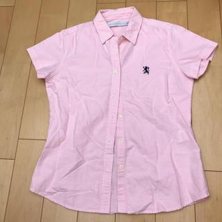 ジャンルーカジョルダーノ(Gianluca Giordano)のピンク 半袖シャツ(シャツ/ブラウス(半袖/袖なし))