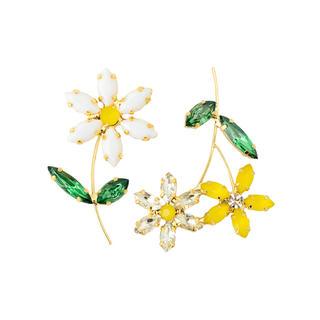 チェスティ(Chesty)のchesty チェスティ Asymmetry Flower Earring (イヤリング)